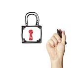 hand-drawn-padlock