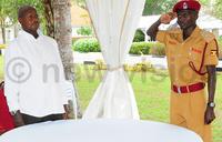 President Museveni meets Kiprotich