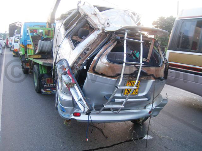 he oyota oah that eyewitnesses say triggered the accident hoto by imon ekidde