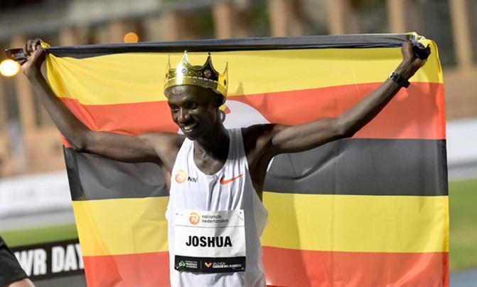 Uganda's Cheptegei breaks 10,000m track world record