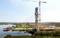 Steady progress made at new Jinja Nile Bridge