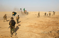 Iraqi forces move toward east Mosul