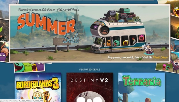 The Steam Summer Sale starts with deals on Borderlands 3, Assassin's Creed and more
