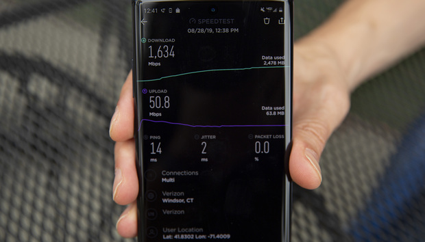 5G on the Samsung Galaxy Note 10+ delivers dizzying highs and frustrating lows