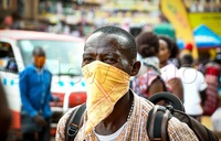 Coronavirus: Kampala residents rush for masks