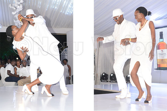 olfers model and dance during last years allwhite 19thhole experience
