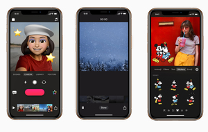 Apple updates Clips app with Memoji and Animoji support, add new Disney stickers