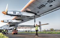 Solar-powered plane to soar again on round-the-world flight