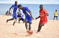 Buganda Royal move top of the National Beach Soccer League