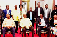 Museveni meets with IPOD delegation