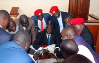 More cases read out for Bobi Wine and co-accused