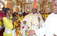 Bishop Ssekamanya praises mothers, asks them to have self-respect