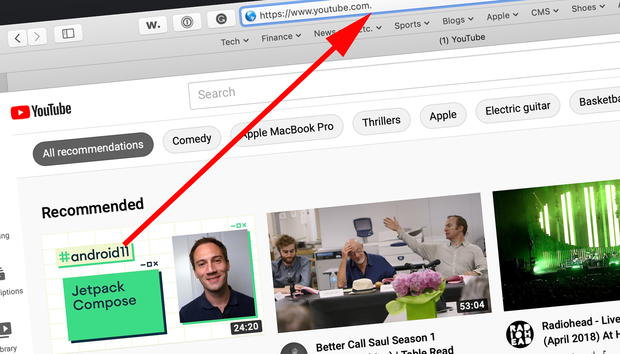 Bizarre internet 'dot' glitch lets you watch ad-free YouTube vids and bypass paywalls