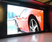 """Samsung is showing a 219-inch version of its """"The Wall"""" micro-LED TV at CES"""