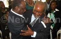Bukenya, Sejusa advise DP factions to reconcile