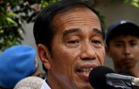 Indonesia's Joko Widodo re-elected president