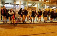 Jerusalemites show a leg for worldwide 'No Pants' ride