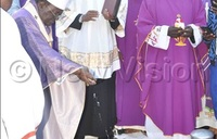Heart attack ends Katongole's 55 years of priesthood