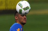 Woman who accuses Brazil's Neymar of rape gives police statement