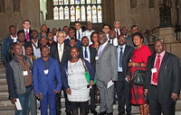 Ugandan business delegation visits Britain's Houses of Parliament