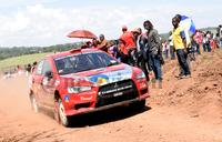 Ssebuguzi wins CMC rally in Mukono