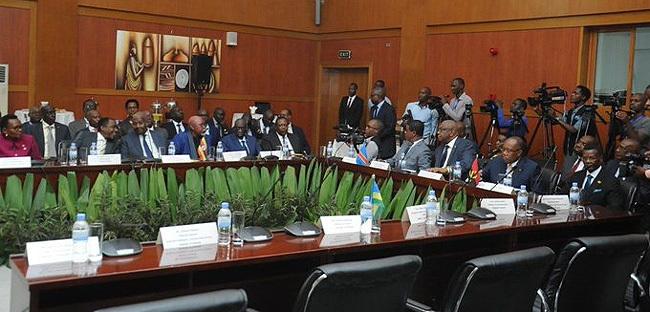 am utesa led the gandan team redit gandan foreign affairs ministry