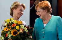 German defence minister elected European Commission president