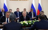 Putin hosts major summit as Kremlin scrambles for Africa