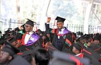Rema's husband steals show at Makerere graduation