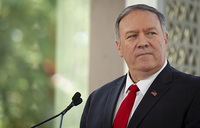 Pompeo denounces Colombian's call to return to arms