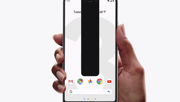 I'm the Pixel 3 XL notch, and screw it, they should have made me even bigger