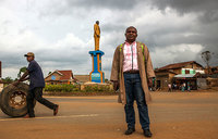 Congo's sculptor with a mission