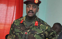 Museveni's son Muhoozi promoted to Brigadier