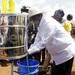 Museveni tips Ugandans on good hand-washing practices