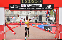 Kipchoge wins men's London Marathon