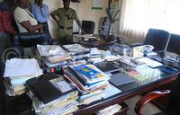 NDA Executive Secretary's office opened forcefully