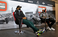 Hamilton, Bottas living 'like hermits' after Mercedes virus outbreak