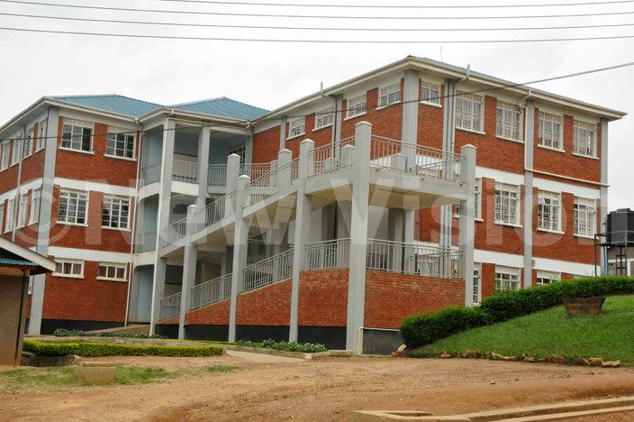 he h37bn multpurpose building government of ganda constructed at aryhill igh chool