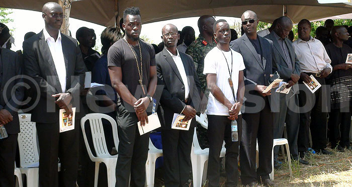 art of the bonyo family members at the burial of their father mother and sisters redit okorachboi