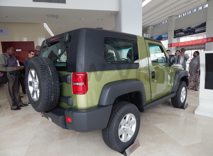 eeplike  produced by  otors at the automobile firms showroom in eijing hoto by addeo wambale