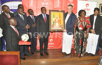Buganda's Masaza Cup sign sponsorship deal with Airtel