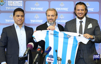 Desabre unveiled by Egyptian club Pyramids