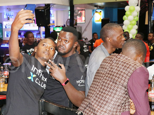 evellers enjoying the vibe of the show