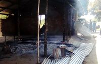 Angry residents burn church in Gulu