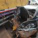 Motorists escape injury in Jinja Road car pileup
