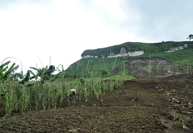 art of the ulago subcounty of ulambuli district that was cut off by the landslides
