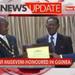 President Museveni honoured in Guinea
