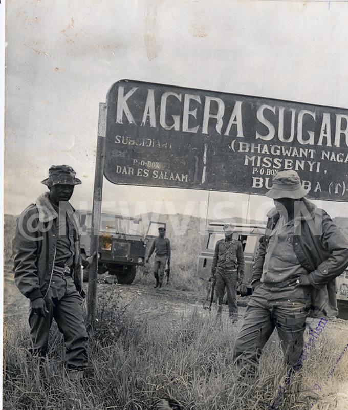 Uganda tanzania war