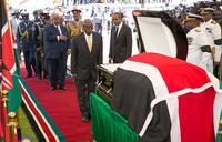 Museveni mourns fallen President Arap Moi