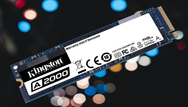 Kingston A2000 NVMe SSD: Fast and cheap, at 10 cents per gigabyte